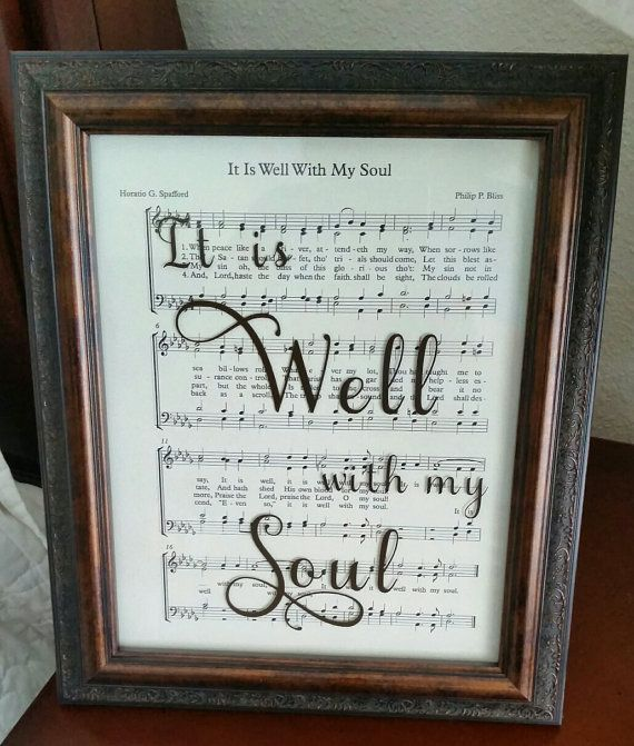 Best 25 Sheet Music Wedding Ideas Only On Pinterest: 25+ Best Ideas About It Is Well On Pinterest