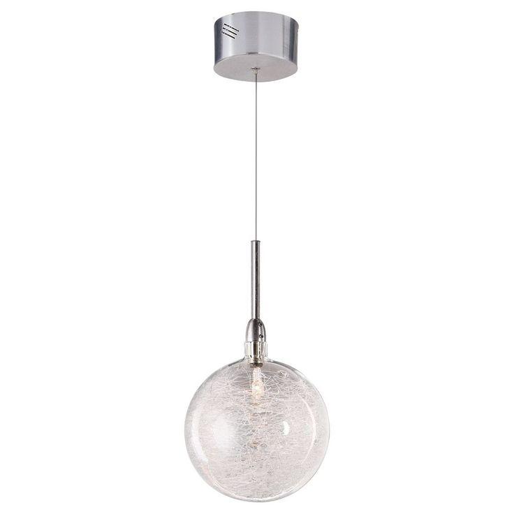 Threaded Glass Globe Mini-Pendant at Destination Lighting