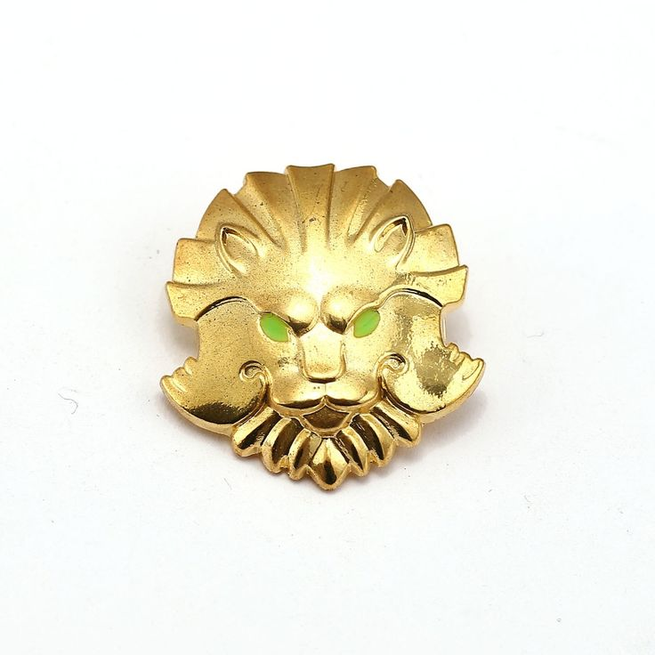 Dota 2 Brooch Lion Head TypeIcon Gold Metal Courage Medal Pins Broches Brooches For Women Men Jewelry Game Lapel Pin Gift