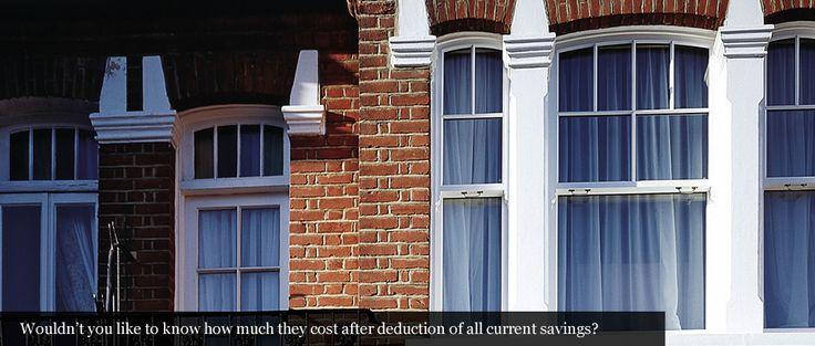Sash Windows in London, Double Glazed Timber Sash Windows:Boxsash