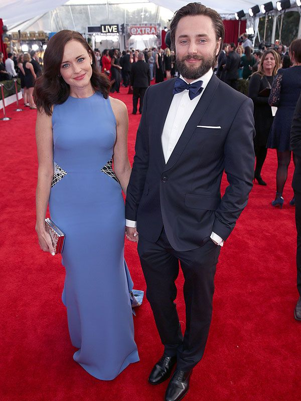 Alexis Bledel is officially a mom! The Gilmore Girls star has reportedly welcomed her first child, a baby boy, with husband Vincent Kartheiser,