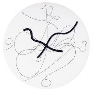 "Happyideas.com - Reloj pared ""Writing on the wall"""