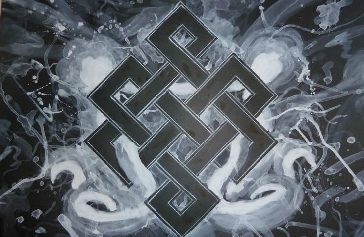 The Endless Knot (or Eternal Knot) Meaning in Buddhism is a geometric diagram which symbolizes the nature of reality where everything is interrelated.
