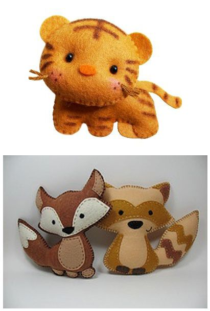 Felties for fun and friends.