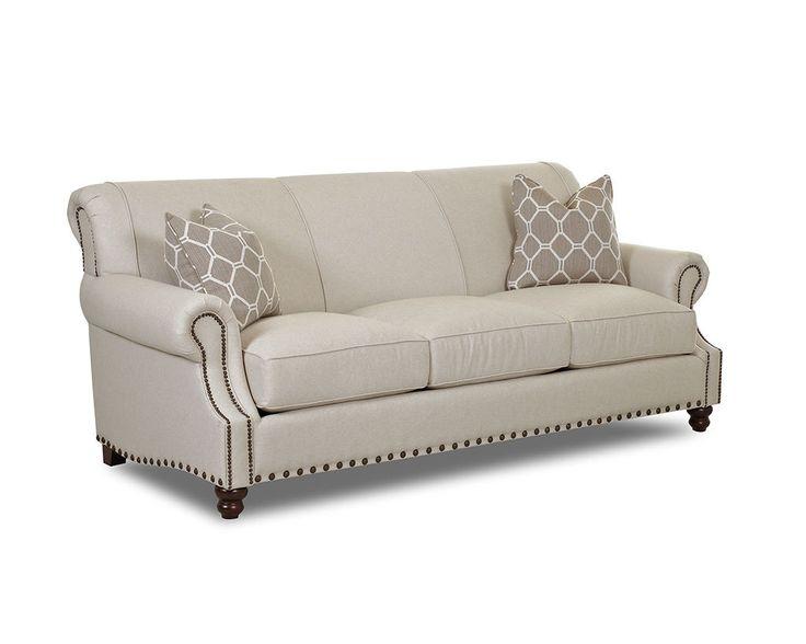 Klaussner living room fremont sofa d30410p s klaussner for Sectional sofas north carolina