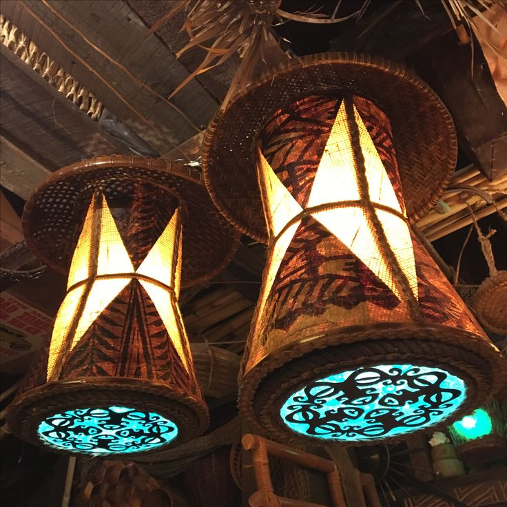 71 Best Tiki Lamps I've Made Images On Pinterest