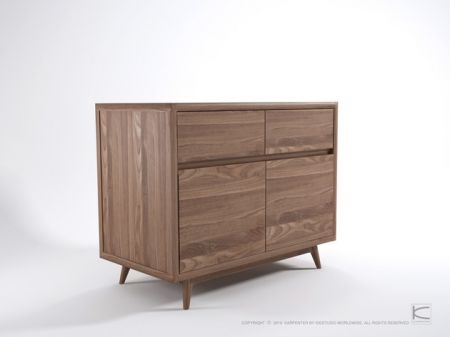 Love the 50's design in this vintage style sideboard with 2 doors & 2 drawers. And the timber is beautiful.