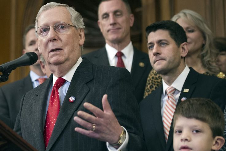 House Speaker Paul Ryan and Senate Leader Mitch McConnell seem fine with the ide... 1