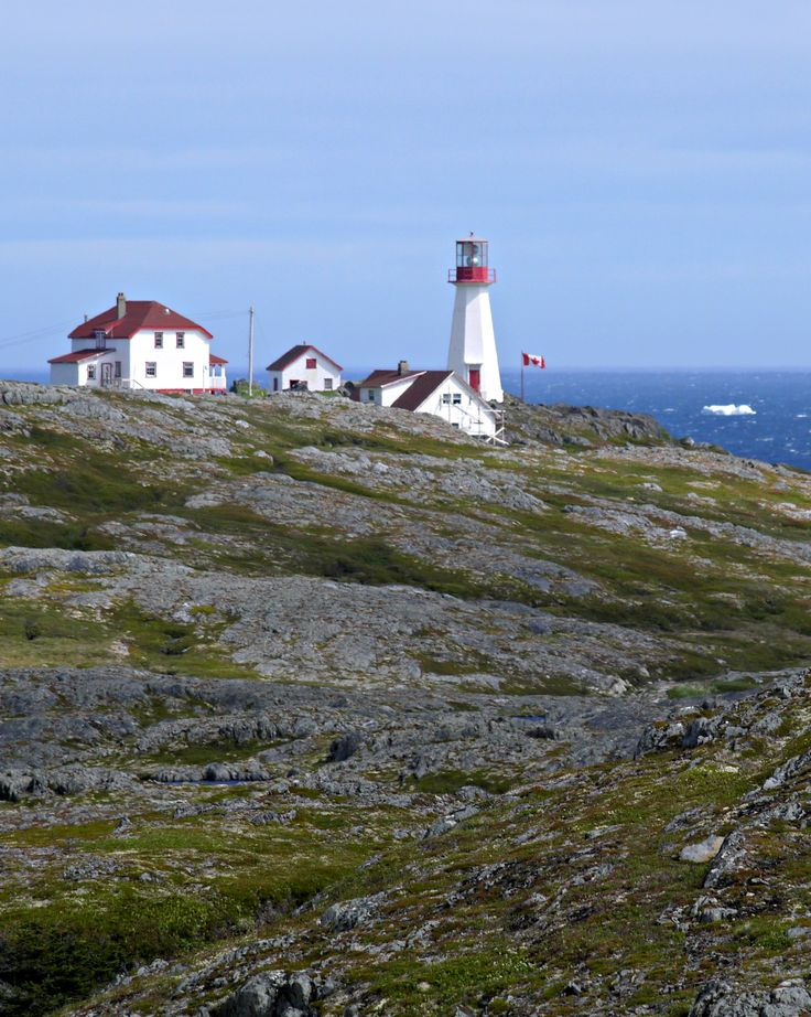 Cape Bauld Lighthouse on Quirpon Island, Newfoundland