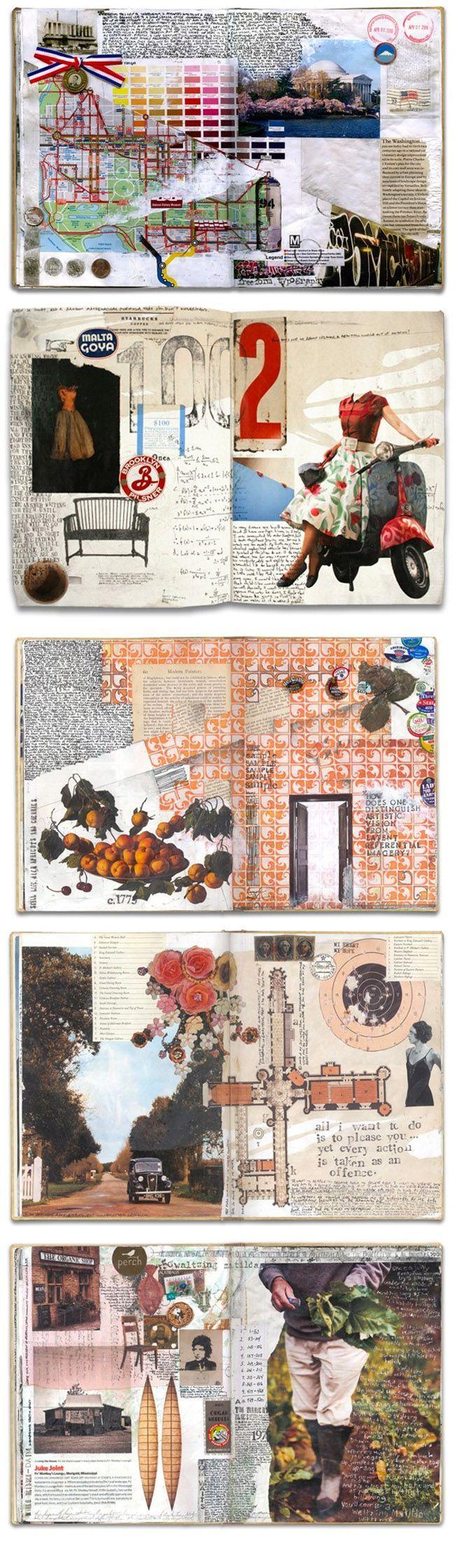 Artist Journal by Gerard Lange http://www.gerardlange.com/PortfolioPages/JRNL/JRNL.html