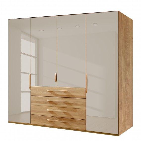 Funktionsschrank Torino   Eiche Teilmassiv | Home24 Design