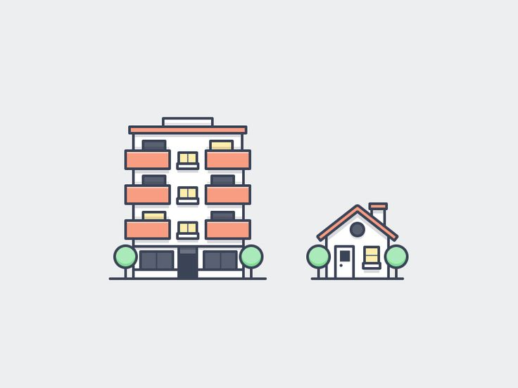 Housing Icons by Scott Tusk