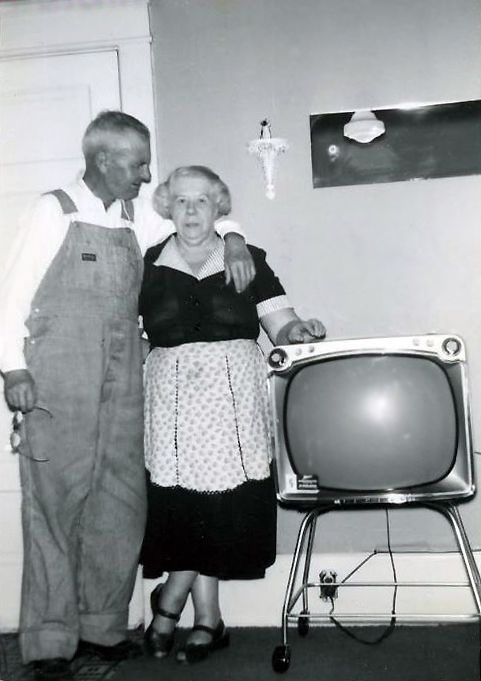 Lovely couple....awesome tv!