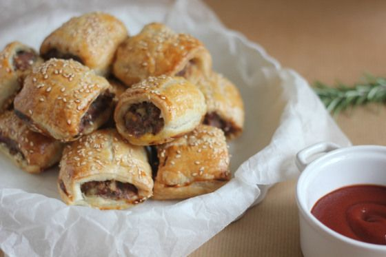 Lamb and Rosemary Sausage Rolls | Cooking | Pinterest