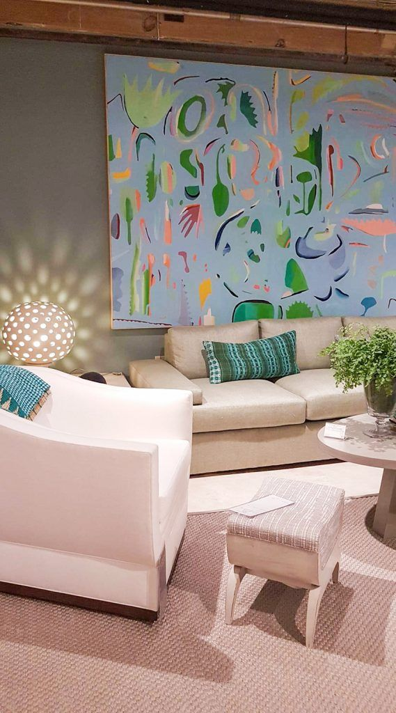 The Biggest Wall Art Trends From High Point 2020 Maria Killam Big Wall Art Art Trends Pink Abstract Painting