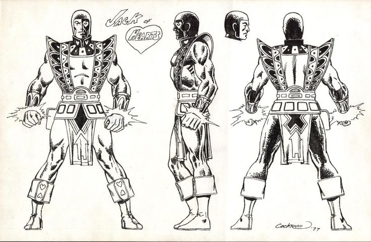 Character Design Guide : Best images about dave cockrum on pinterest comic