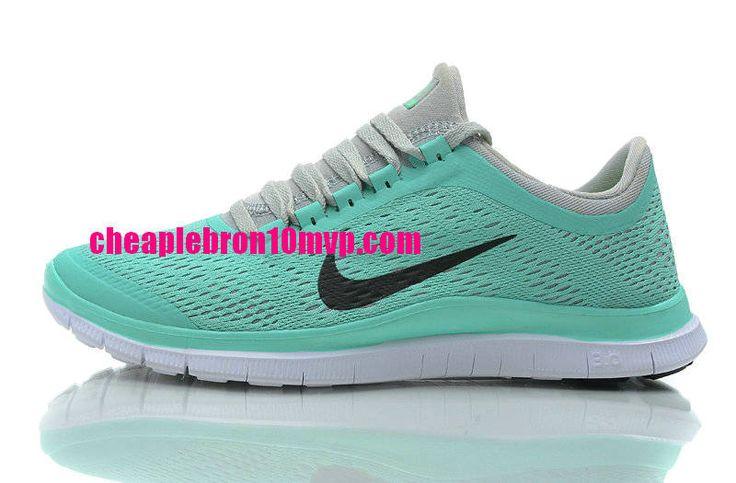 Nike Free 3.0 V4 Womens Mint Green Reflect Silver