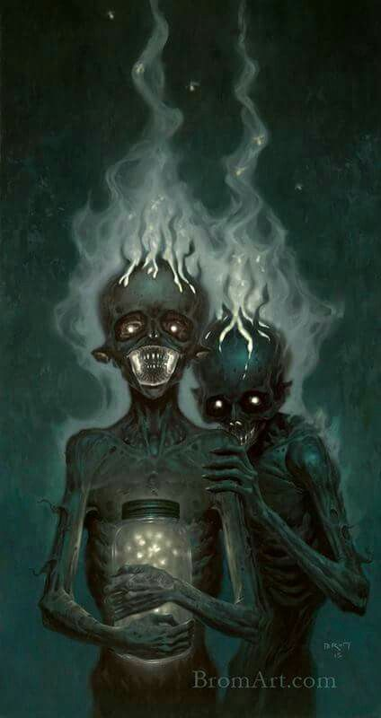 Dave and Billy by Brom