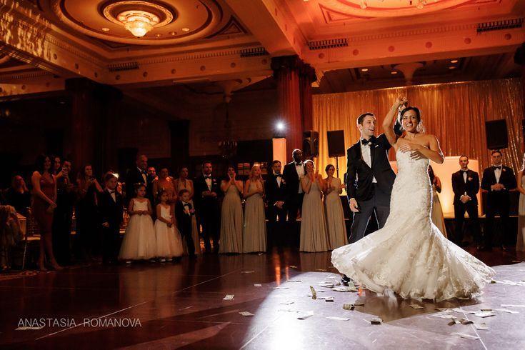 Crystal Tea Room Philadelphia Wedding Greek Wedding Reception Red Uplighting Anastasia Romanova Phot Philadelphia Wedding Wedding Dresses Greek Wedding