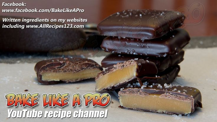 Easy Dark Chocolate Salted Caramel Thins Recipe