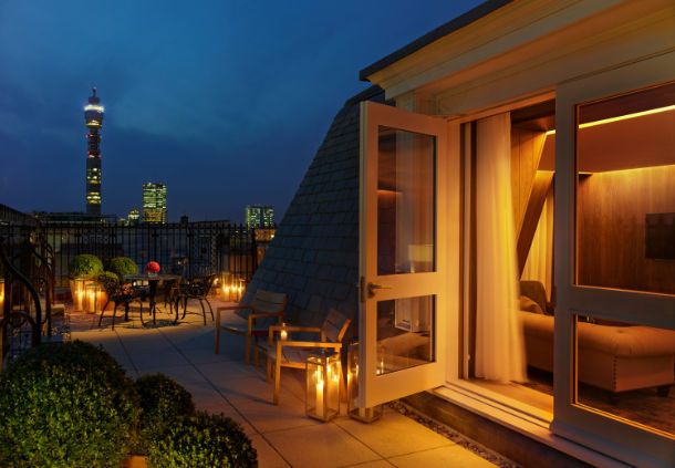 The London EDITION One-Bedroom Suite Terrace