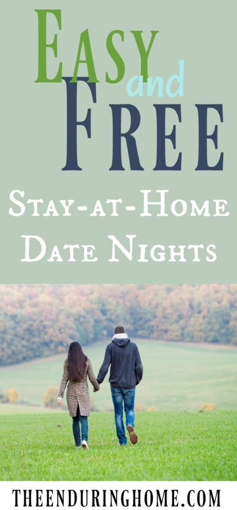 Love these ideas for a date night on a tight budget - need to remember these stay at home date night ideas - free and easy!