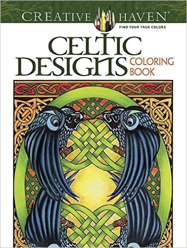 Amazon Creative Haven Celtic Designs Coloring Book Adult 9780486803104