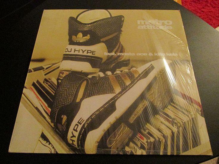 DJ Hype Feat. Masta Ace & Killa Kela – Metro Attitude #Vinyl