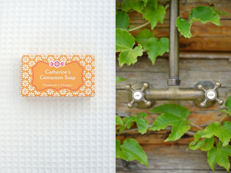 Catherine's Cinnamon Soap, from Catherine's Vineyard Cottages in Csákberény, Hungary.