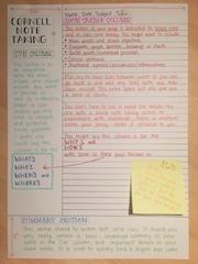 Come prendere appunti efficaci: il metodo Cornell   Didattica Orizzonte Scuola