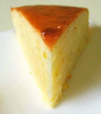 Frisse, citroenige cake