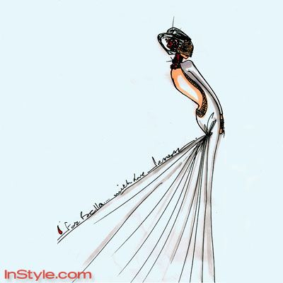 17 Best Images About Fashion Wedding Sketch Book On