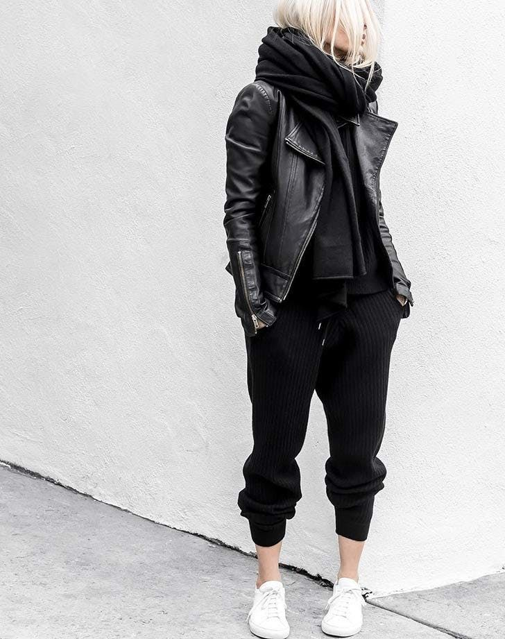 How to Look Chic While Wearing Sweatpants (No, Really) via @PureWow