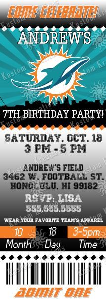 nfl-miami-dolphins-ticket-birthday-invitation