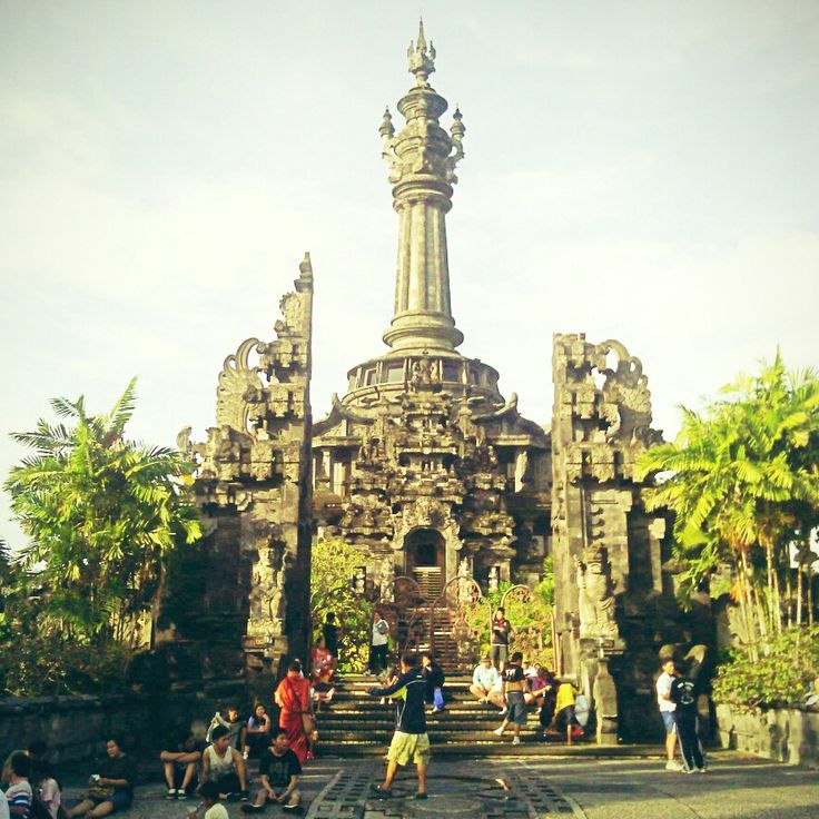 Lapangan Niti Mandala Renon di Denpasar, Bali