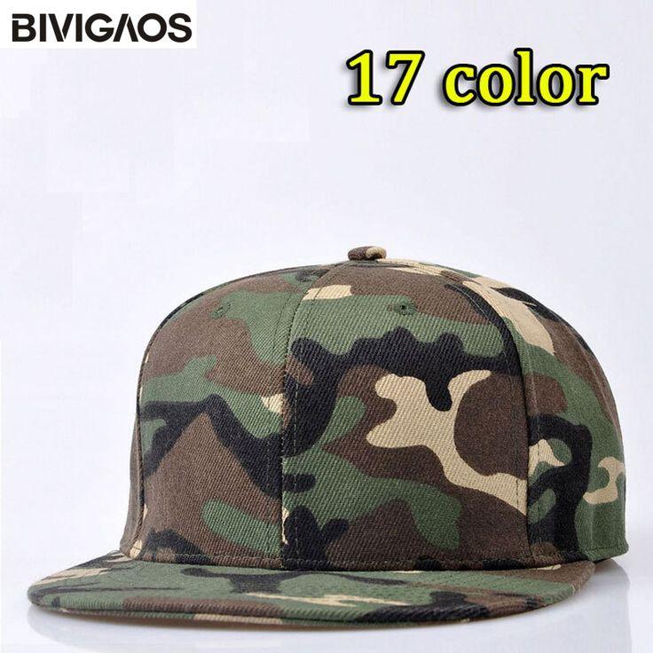 New Fashion Unisex High Quality Casual Blank Camouflage Baseball Caps Hip Hop Cap Skateboard Hats For Men Women Snapback Bone