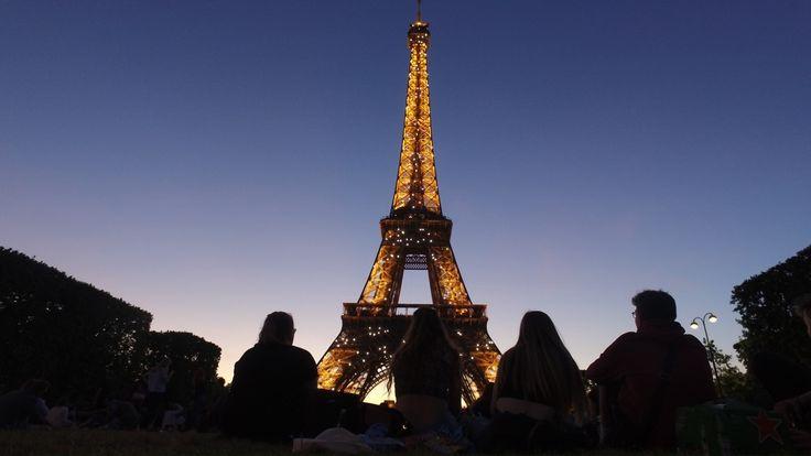 La Torre Eifel, Paris