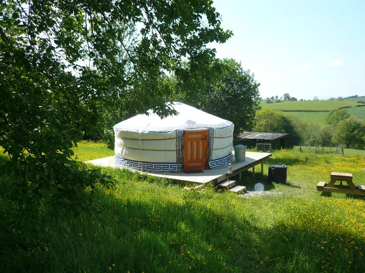 Strawberry Skys Yurts, Cyfronydd, Welshpool, Powys, Wales. Camping. Summer. Travel. Holiday. Day Out. Family. Retreat. Tent. Go Outdoors.