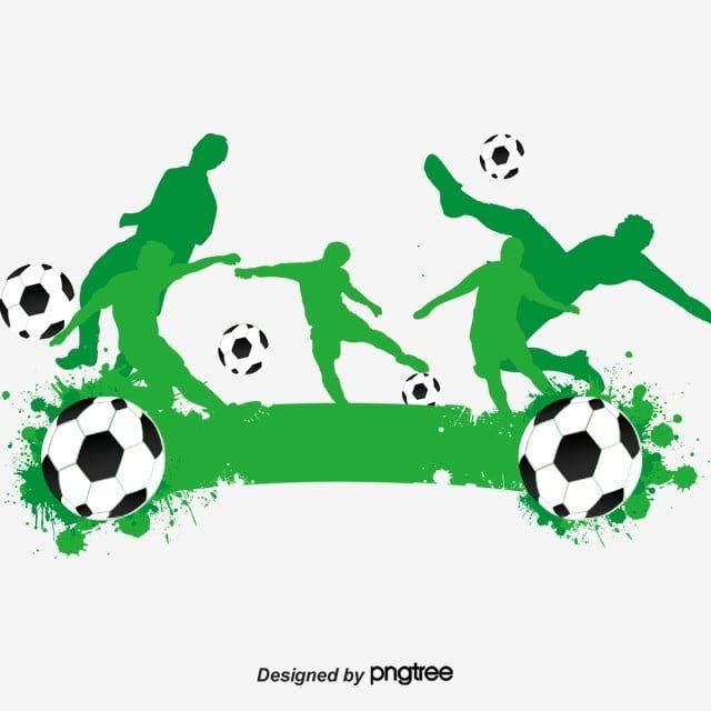 الهتاف كرة القدم صورة ظلية ناقلات الأخضر ناقلات كرة القدم ناقلات الأخضر صورة ظلية ناقلات Png وملف Psd للتحميل مجانا Silhouette Vector Graphic Design Background Templates Football Cheer