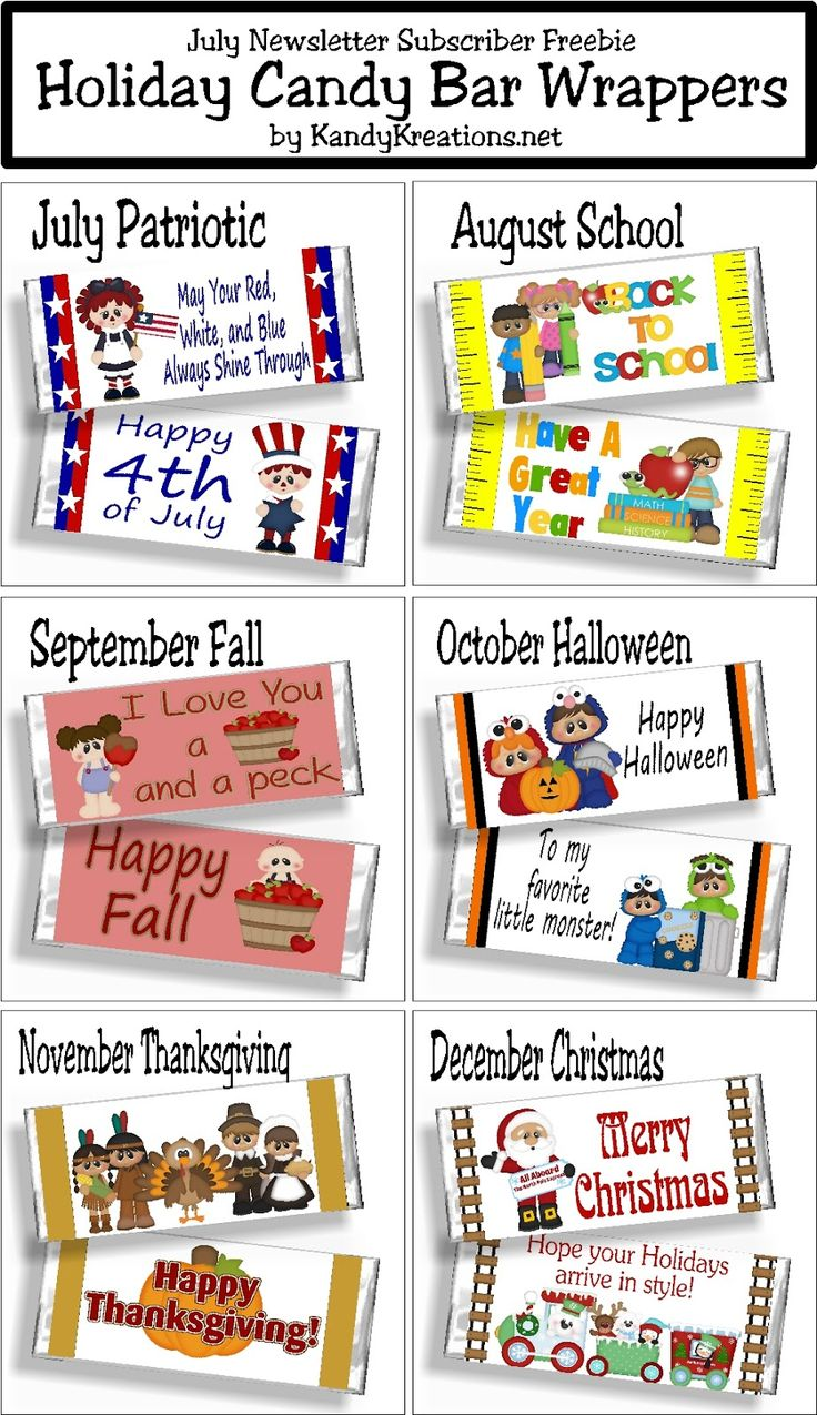 17 best images about candy bar sayings  wrappers on pinterest