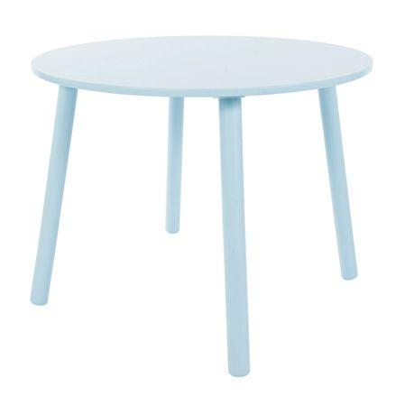 Köp Sebra Träbord Blå | Barnrummet Barnmöbler | Jollyroom