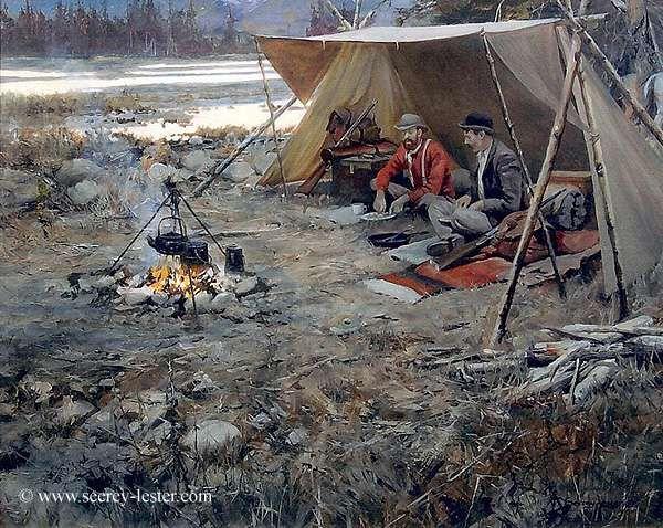 Mountain Man Shelters : Best mountain man fur trade primitive skills