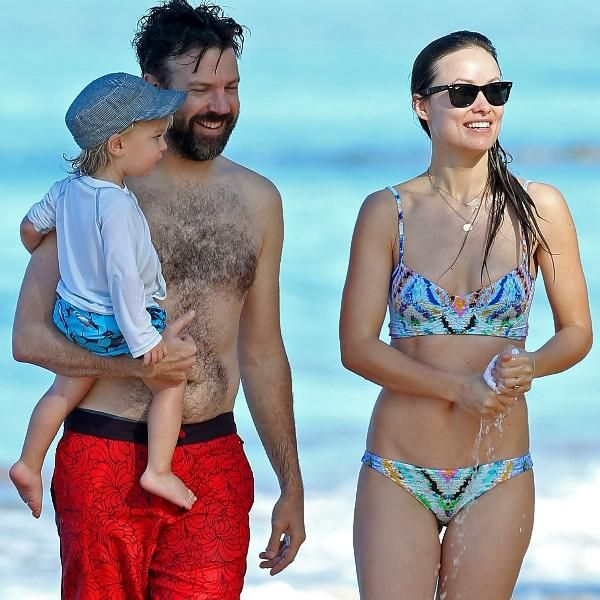 Olivia Wilde and Jason Sudeikis show off matching beach bodies in Hawaii