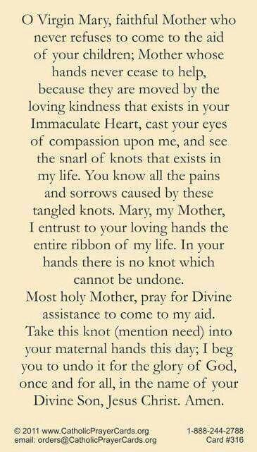 St. Therese Novene antwortet