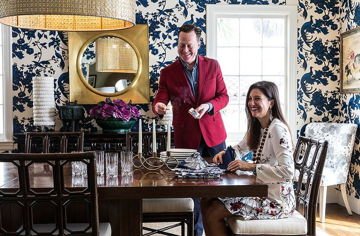 Florence's works have been the inspiration behind an entire house's interior design. Not only have her prints been reimagined beyond wallpaper and soft furnishings, but her flamboyant life, with it's myriad career and style changes - and extensive overseas travel in the 20's, 30's and 40's - have been the inspiration behind every piece of custom furniture and accessory.