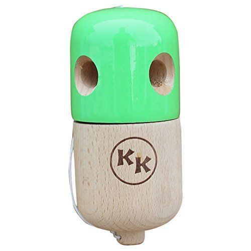 Kapsule Kendama 5 Hole Pill Kendama Pro Catch Toy - Green Kapsule Kendama http://www.amazon.com/dp/B00YCZ3O9S/ref=cm_sw_r_pi_dp_PERpwb08GE258