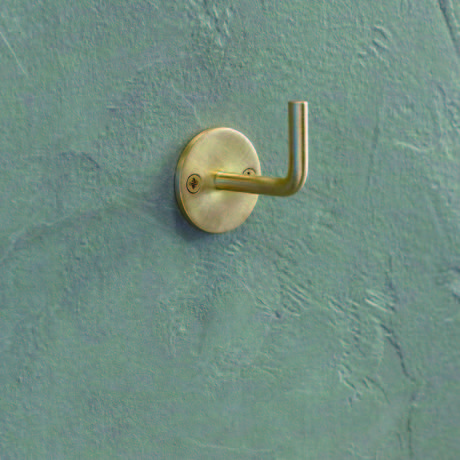 Brass Hook - Round