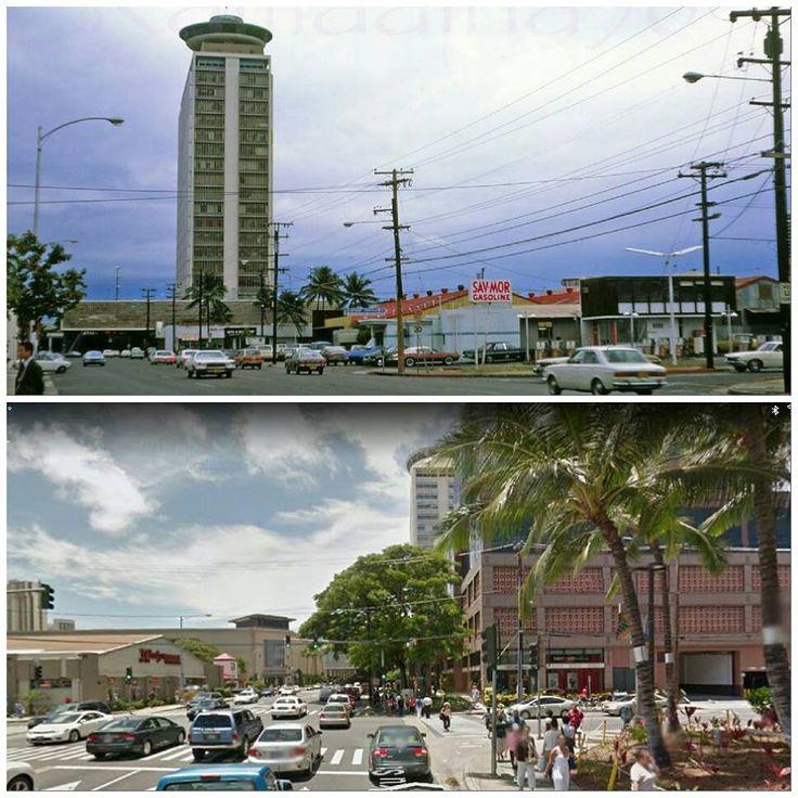 Ke Eaumoku Street Then And Now Vintage Hawaii Hawaiian History