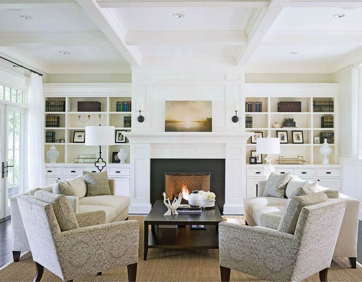 Amazing Gallery Of Interior Design And Decorating Ideas Of Fireplace Built In Bookcase In Living Rooms Bedrooms Decks Patios Dens Libraries Offices By