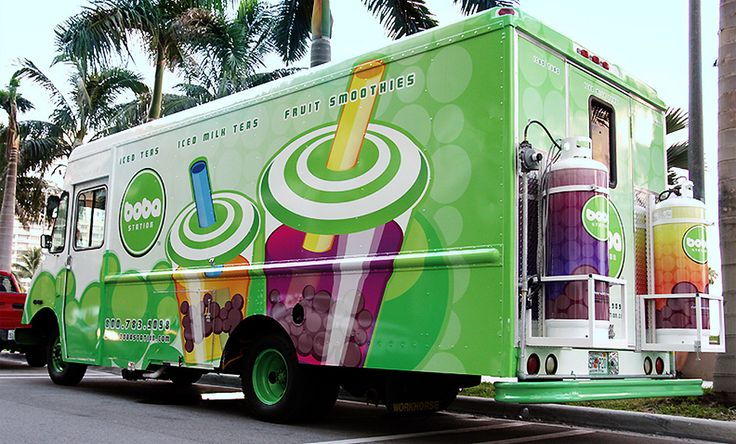 Boba Station Food Truck - franchising opportunities